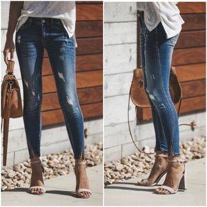 KanCan Split Ankle Jeans 25
